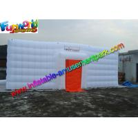 China Customized Indoor Inflatable Fitness Party Tent  , White Inflatable Cube Marquee on sale