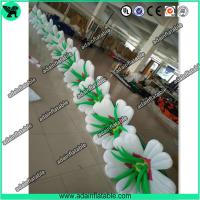 Wholesale High Quality Inflatable Lily Flower Rope,Inflatable Flower Line,Event Inflatable Flower from china suppliers