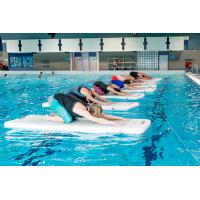 Wholesale 2m - 12m length Inflatable Yoga Mat aqua fitness board Environmental friendly from china suppliers