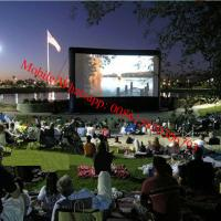 China Inflatable rear projection screen inflatable movie screen on sale
