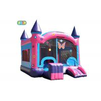 Wholesale Logo Printing Inflatable Bounce House Combo Inflatable Butterfly Bounce Castle from china suppliers