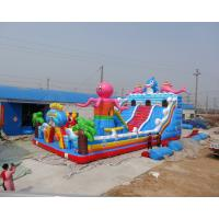 Wholesale New arrival Commercial rental octopus design inflatable bouncer slide for sale from china suppliers