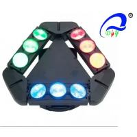 Wholesale IP33 High Brightness LED Stage Light Spider Moving Head Stage Light LCD Display from china suppliers