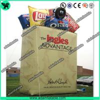 Wholesale Snacks Promotional Inflatable Bag Replica/Advertising Inflatable Bag Model from china suppliers