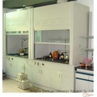 All Steel Frame Ducted Fume Cupboard Adjustable Feet With Fluorescent Lighting