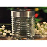 Quality 850ML Cylinder Personalized Mason Jar Drinking Glass Decorative Canister for sale