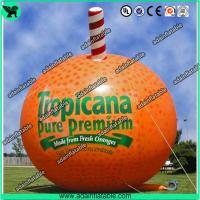Wholesale Event Advertising Inflatable Fruits Model Orange Replica/Promotion Inflatable Fruits from china suppliers