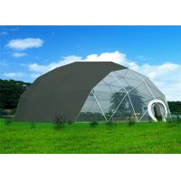 Wholesale Anti - Rust  Geodesic Dome Tent Durable High Strength Q235 Steel Structure from china suppliers