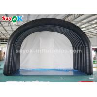 China Black Tunnel Entrance Inflatable Air Tent For Outdoor Sports Meeting on sale