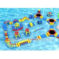 Wholesale aqua water park , amusement park equipment, inflatable water park prices from china suppliers