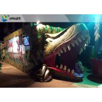 Wholesale Electric Dynamic 7D Cinema System Dinosaur House In Entertainment Places from china suppliers