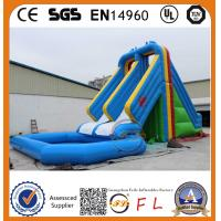 Wholesale 2015 Hot Sale newest high quality large ez tropical combo waterslide from china suppliers
