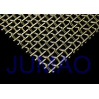 China Interior Flat / Bright Woven Wire Mesh , Security Stainless Steel Wire Mesh on sale