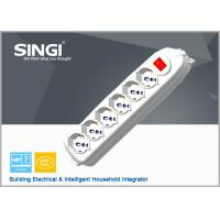 Wholesale Residential PP multiple outlet power strip with Self Grounding from china suppliers