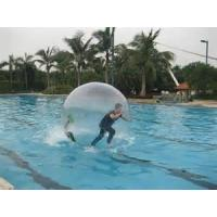 China Clear OEM PVC or 0.8MM TPU Inflatable Water Walking Ball for Water Sports Games on sale