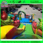 Cheap Kids Inflatable Amusement Park Customized Giant Inflatable Amusement Park