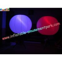 Wholesale Indoor Colorful LED RGB Inflatable Stage Lighting Decoration Exhibition Illuminated Ball from china suppliers
