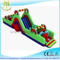 Wholesale Hansel affordable playground equipment,obstacle sport game indoor and outdoor from china suppliers