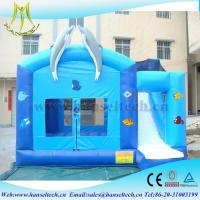 Quality Hansel customer design dolpin bouncy castle air pumps for children for sale