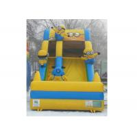Wholesale Giant Yellow Minion Slide Inflatable / Exciting Despicable Me Theme Inflate Slide from china suppliers