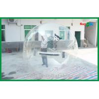 Transparent Floating Ball Inflatable Water Toys , Walk On Water Bubble