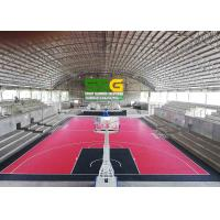 Wholesale Interlocking Rubber Floor Tiles For Basketball Court Project Case In Philippine from china suppliers