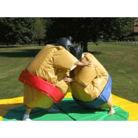 Sumo Wresting Inflatable Amusement Park , Inflatable Carnival Games