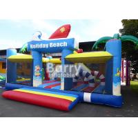 Wholesale 0.55m PVC Material Inflatable Park Equipment Playground / Outdoor Holiday Beach Inflatable Playland from china suppliers