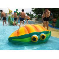 Wholesale Customized Kids Water Playground Fiberglass Amusement Park Flower Spray from china suppliers