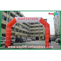 Wholesale Most Attractive Commercial Inflatable Entrance Arch , Advertising Arch Inflatable Tent from china suppliers