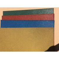 Wholesale Wear Resistant Outdoor Rubber Mats , Safe - Play Rubber Playground Tiles from china suppliers