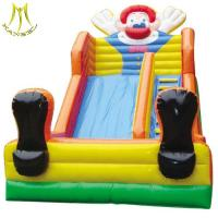 Wholesale Hansel wholesale children's trampoline clown design inflatable slide for kids in China from china suppliers
