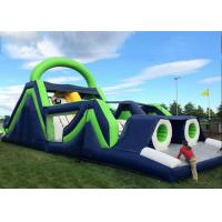 Wholesale Giant Kids 5 In 1 Inflatable Obstacle Courses Climbing Tunnels And Slide Combo from china suppliers