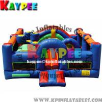 Wholesale KFT009-19'L x 20'W x 8'T Obstacle funcity ,inflatable playland,crazy playgound, from china suppliers