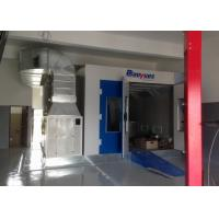 Wholesale Pressurized Downdraft Woodworking Spray Booth , Furniture Paint Booth Oven from china suppliers