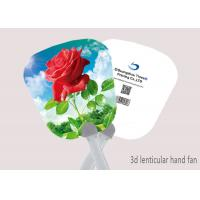 Wholesale Celebrity Custom 3D Lenticular Printing Hand Fan 0.6mm PET + Paper from china suppliers