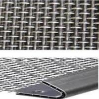 China Woven Vibrating Screen Crimped Wire Mesh Stainless Steel 304 321 316 2205 2507 on sale