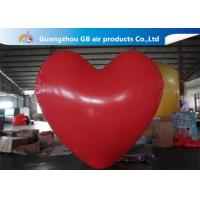 Wholesale Party Big Red Love Heart Inflatable Model PVC Helium Balloon Airtight from china suppliers