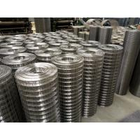 Wholesale 304 316SS Square Welded Wire Mesh Rolls,1/2