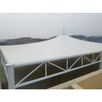 China PVC Architectural Materials Tensile Fabric Structure on sale