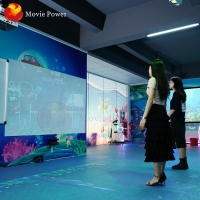 Wholesale Small Business Machine Ideas Indoor Sports Kid Ar Interactive Projection Floor Game from china suppliers