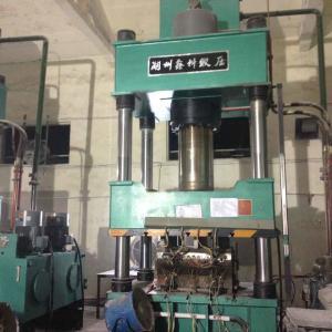 SMC Distribution Box Hydraulic Molding Press Equipment 4 Column Structure