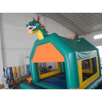 Wholesale Outdoor Water Proof Inflatable Fun City Jumper / Backyard Bounce Fun City With Slide from china suppliers