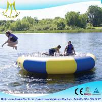 Wholesale Hansel popular inflatable bounce house waterslide rental business from china suppliers