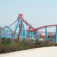 Wholesale Suspended Roller Coaster Ride 780m Track Rated Load 20 Riders Height 33m from china suppliers