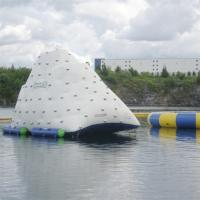 Wholesale White Giant Inflatable Iceberg For Water Sport Customized Size 3 Years Warranty from china suppliers