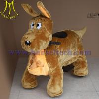 Wholesale Hansel kids electronic happy animal rides plush riding animals from china suppliers
