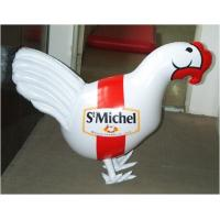 Wholesale pvc inflatable chicken for advertising/ inflatable pvc chicken toy for kids from china suppliers