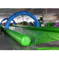 Wholesale Funny Inflatable Slip N Slide Water Slides Street 1200m Long Slip And Slide from china suppliers