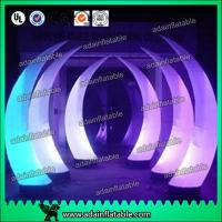 Wholesale Event Decoration Lighting Inflatable Tusk Tube Pillar Entrance from china suppliers